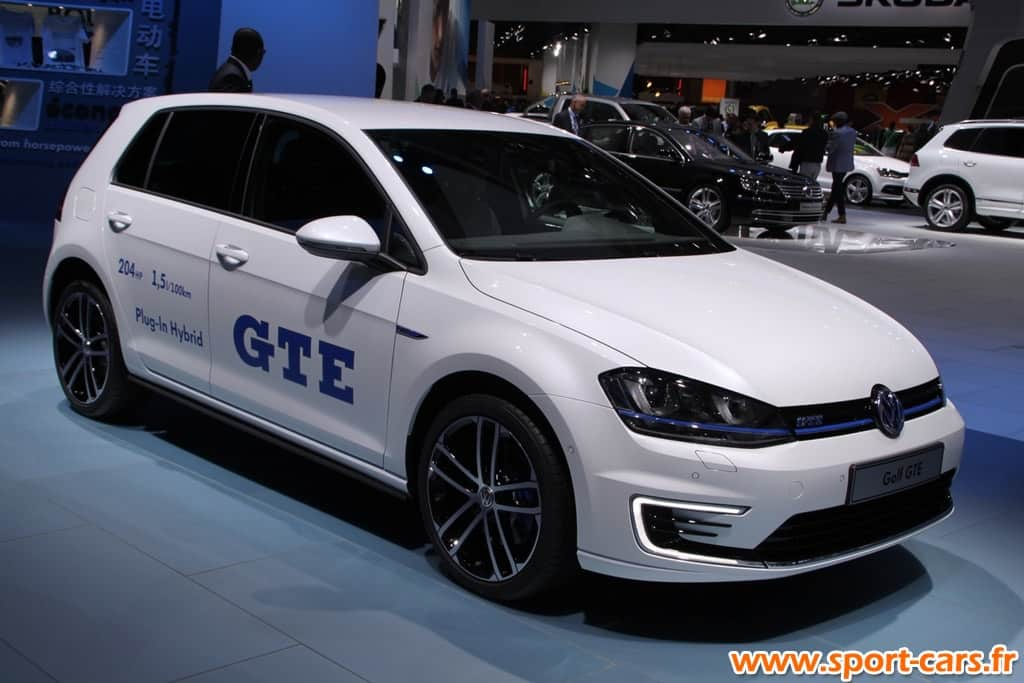 mondial volkswagen hybride sa golf gte. Black Bedroom Furniture Sets. Home Design Ideas